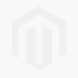 Jeulia Leaf Design Emerald Cut Sterling Silver Necklace