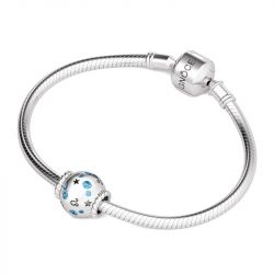 Leo Charm Sterling Silver