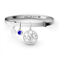 Jeulia Blessing Charm Bangle